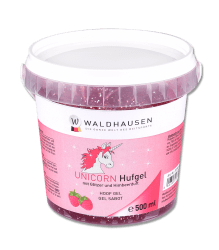 Hovgel Unicorn Glitter med hallondoft 500 ml Waldhausen