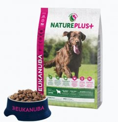 Hundfoder Adult Large Breed Nature+ Lamb Eukanuba