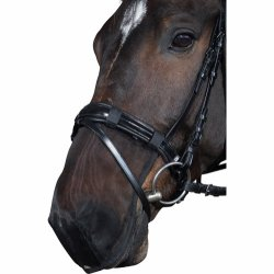 Nosskydd Mesh Muzzle Protection Svart nät Horse Guard