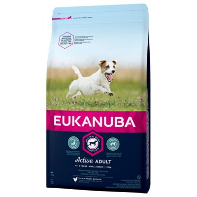 Hundfoder Adult Small Eukanuba