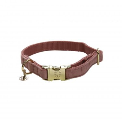 Hundhalsband Velvet Old Rose Kentucky