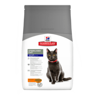 Kattfoder Mature 7+ Sterilised Chicken Hill's