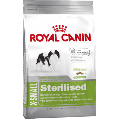 Hundfoder X-Small Sterilised Royal Canin