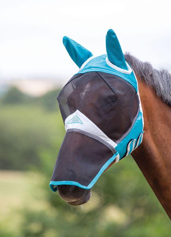 flugskydd nos häst